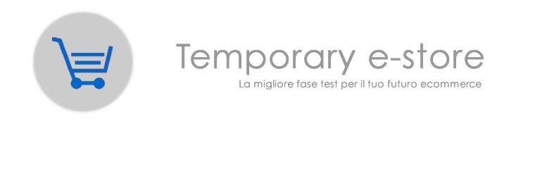 Temporary e-store